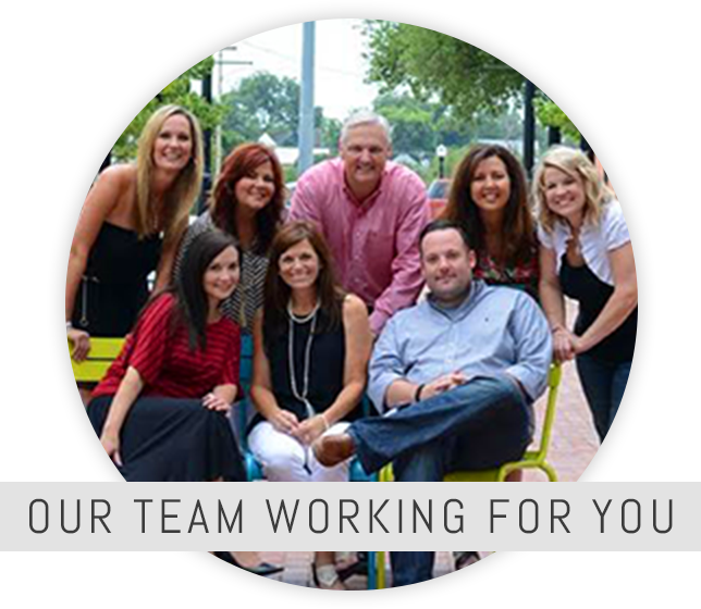 our team working for you