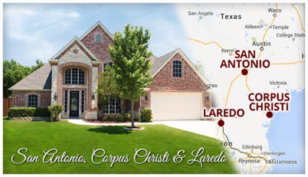 San Antonio, Corpus Christi & Laredo