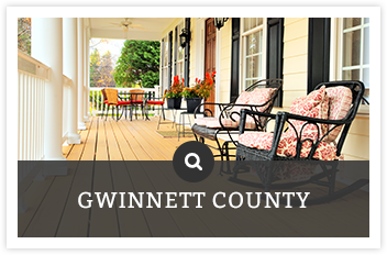 Front porch with chairs | Search Gwinnett County